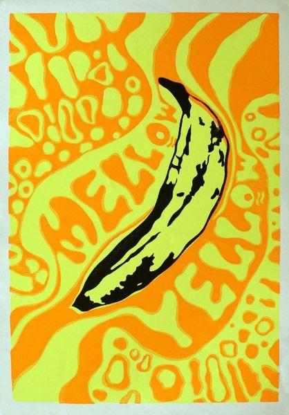 Vintage Head Shop Poster  Mellow Yellow Poster  Amoeba