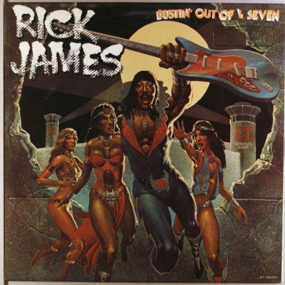 Image result for rick james bustin out of l seven