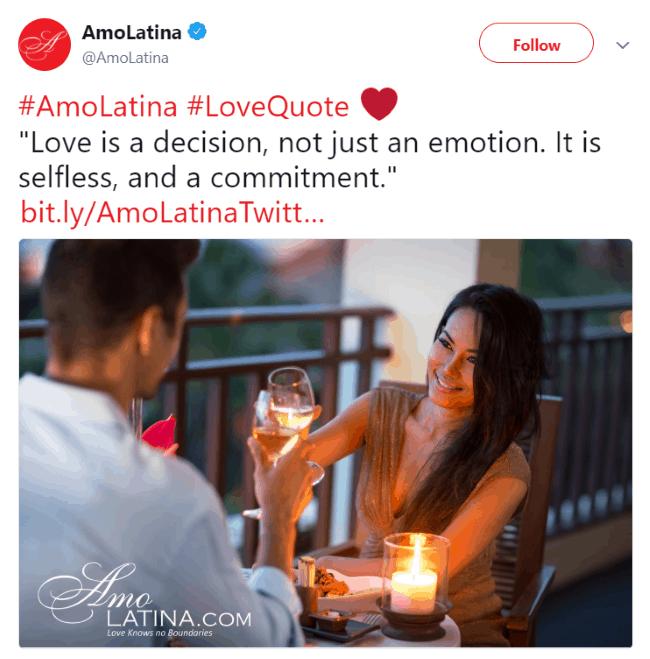 Follow AmoLatina on Social Media
