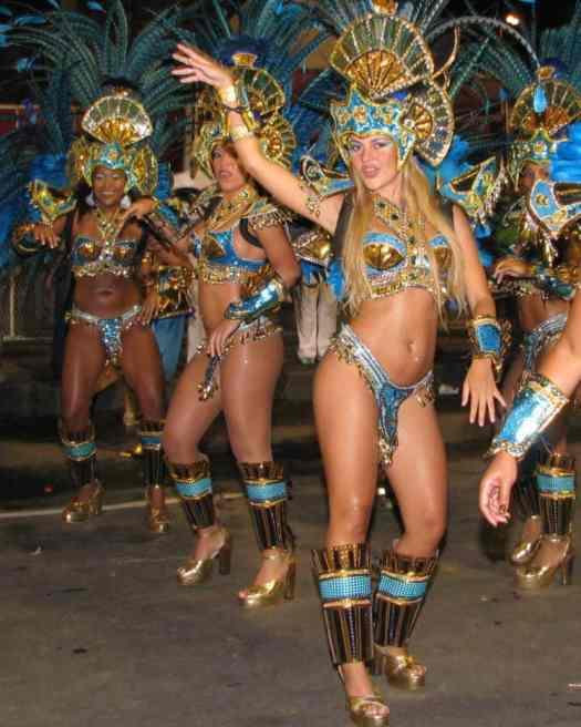 Samba Dancers Brazil