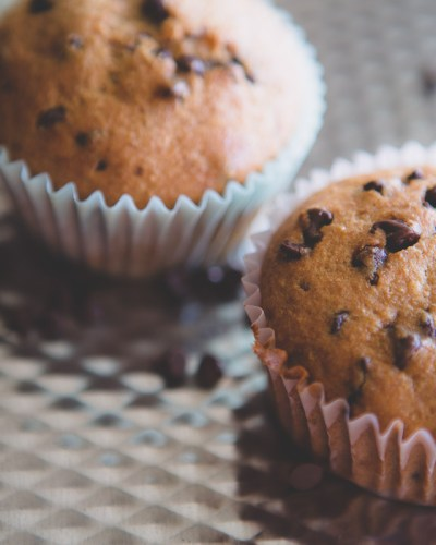 In the Kitchen: Whole Wheat Chocolate Chip Banana Muffins