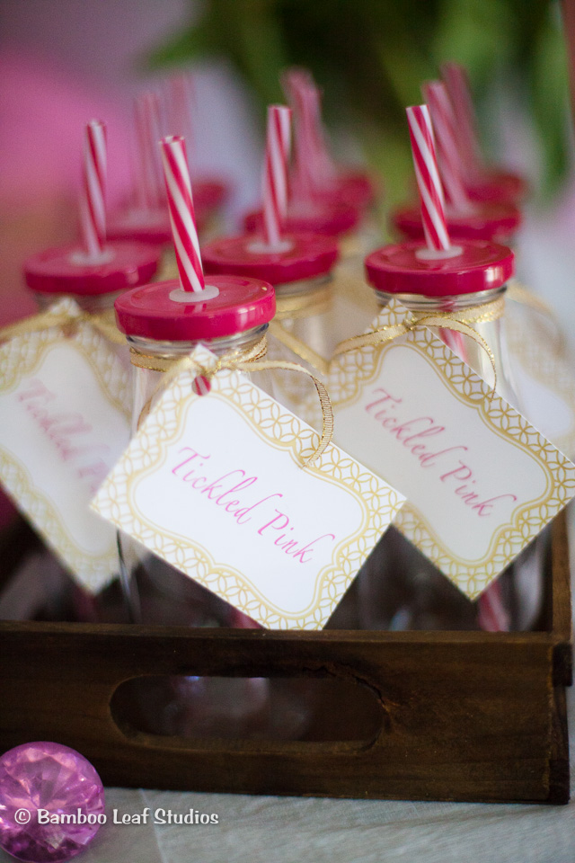 Milk Bottle Favors