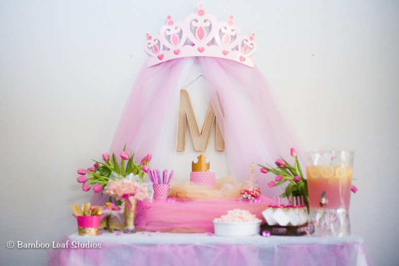 Pink & Gold Princess Tea Party