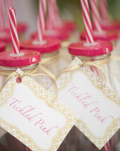 Milk Bottle Party Favors with Free Download