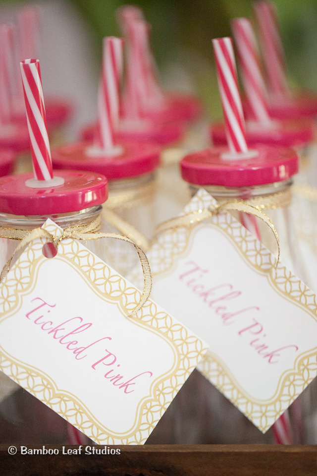 Milk Bottle Party Favors