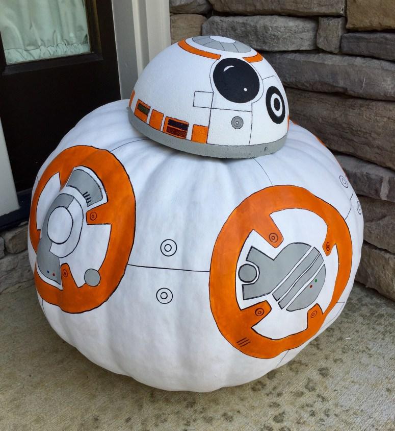 Star Wars BB-8 Pumpkin