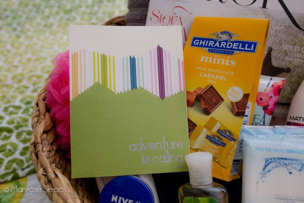 Cricut DIY Welcome Card