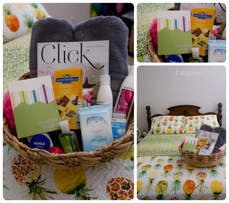Guestroom Welcome Basket