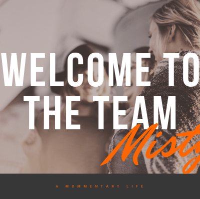 Welcome to the Team!