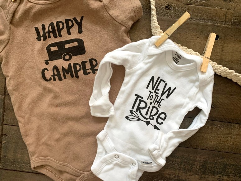 DIY Cricut Newborn Onesie