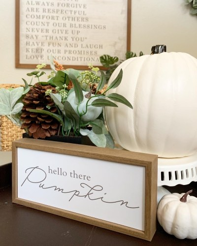 Home Decor: Coastal Modern Fall Dining Room