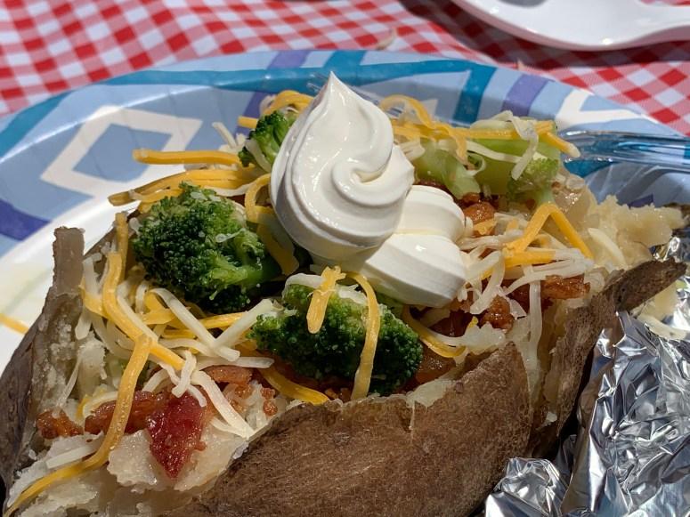 Camping Potato Bar