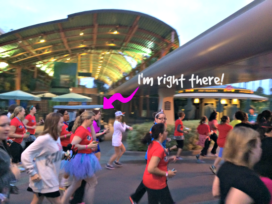Start of the Fun Run #DisneySMMoms