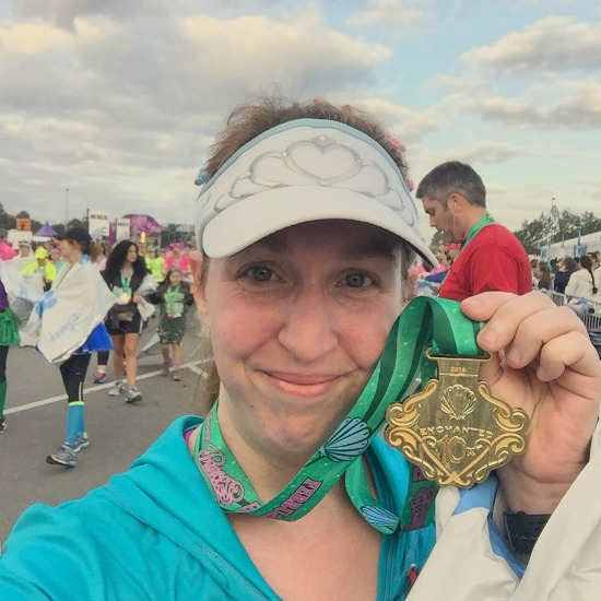 Enchanted 10k medal