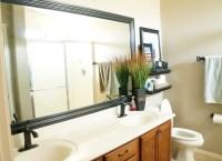 How to Frame a Mirror - DIY Bathroom Mirror Frames ...