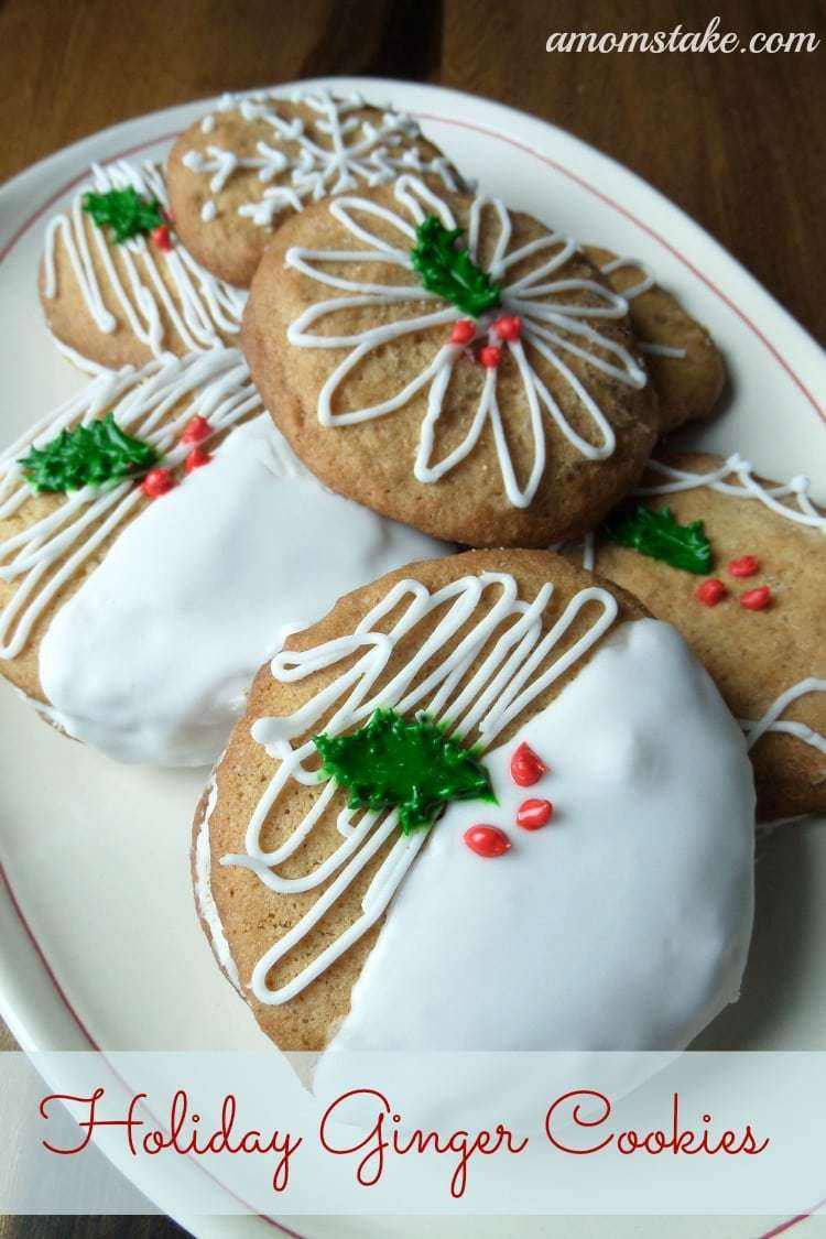 Christmas Cookies Holiday Ginger Cookies A Moms Take