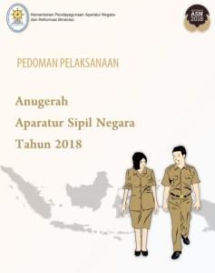 Pedoman Pelaksanaan Anugerah Aparatur Sipil Negara (ASN) Tahun 2018