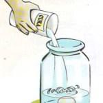 Percobaan Sains Sederhana Membuat Telur Lunak dan Lentur Seperti Karet