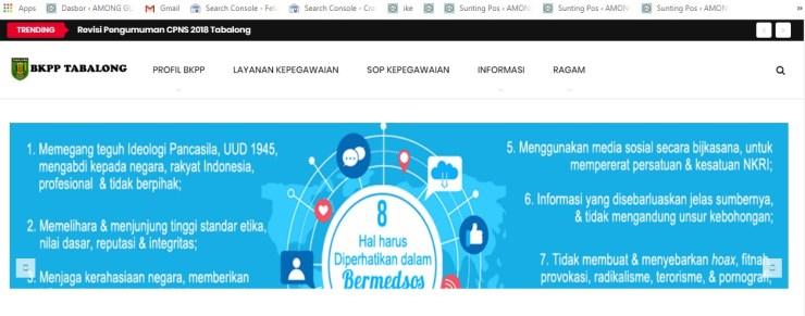 Jadwal Jadwal dan Lokasi Tes Kompetensi Dasar CPNS Kabupaten Tabalong Tahun 2018Lokasi Tes Kompetensi Dasar CPNS Kabupaten Tabalong Tahun 2018