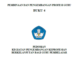 Download Buku Pedoman Angka Kredit Guru Terbaru