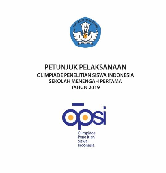 Download Petunjuk Pelaksanaan Juklak OPSI SMP Tahun 2019