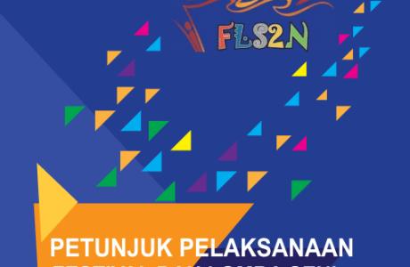 Download Petunjuk Pelaksanaan Juklak FLS2N SD Tahun 2019