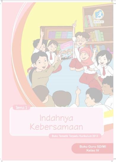 Buku Guru Dan Buku Siswa Kelas 4 Kurikulum 2013 K13 Edisi Revisi 2018
