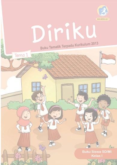 Buku Guru dan Buku Siswa Kelas 1 Kurikulum 2013 K13 Edisi Revisi 2018