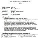 Download Silabus dan RPP Prakarya Kelas 9 SMP Kurikulum 2013
