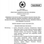 PP Nomor 36 Tahun 2019 tentang Pemberian Tunjangan Hari Raya PNS