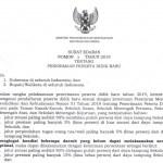 Surat Edaran Mendikbud Nomor 3 Tahun 2019 tentang Perubahan Kuota Zonasi