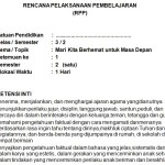 Download RPP Kelas 3 SD Kurikulum 2013 Edisi Revisi 2018 Tema 7
