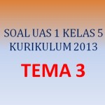 Soal UAS 1 Penilaian Akhir Semester kelas 5 Tema 3 K13 (Bagian II)