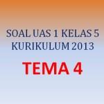 Soal UAS 1 Penilaian Akhir Semester Kelas 5 SD Tema 4 K13 (Bagian II)