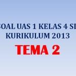 Soal UAS 1 Penilaian Akhir Semester Kelas 4 Tema 2 Kurikulum 2013