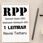 Download Contoh RPP Satu Lembar Kelas 5 SD MI Tahun 2020