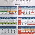 Kalender Pendidikan Kaldik Provinsi Jawa Barat Tahun Ajaran 2020/2021