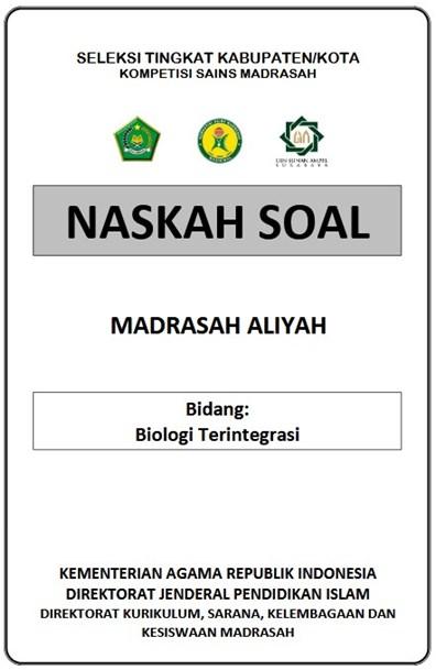 Download Latihan Soal Ksm Ma Tingkat Kabupaten Tahun 2020