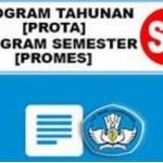 Download Prota dan Promes Kelas 3 SD MI Kurikulum 2013 Revisi Terbaru