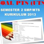 Soal PTS UTS Bahasa InggrisSemester 2 Kelas 7 K13 Tahun 2021
