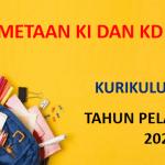 Pemetaan KI dan KD SD K13 Revisi Terbaru Tahun Pelajaran 2021/2022