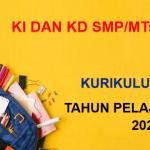 KI dan KD PJOK Kelas 7 8 9 SMP MTs K13 Tahun Pelajaran 2021/2022