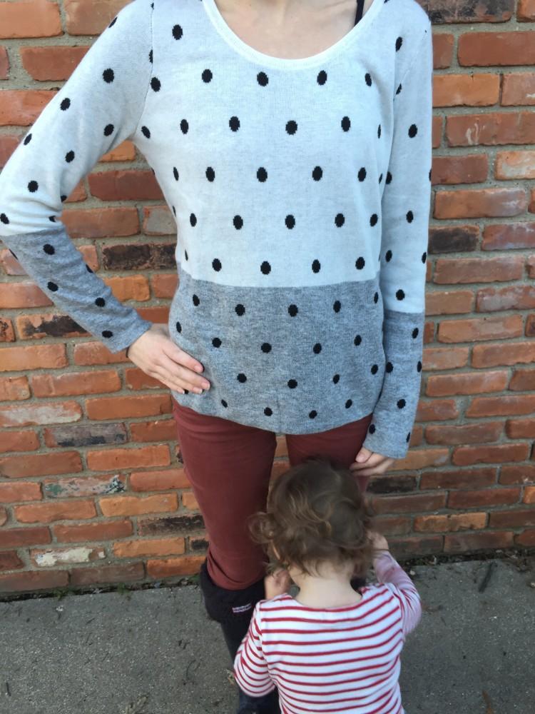 Mainly Pullover Sweater, Market & Spruce December Stitch Fix // www.amonkeyandhismama.com