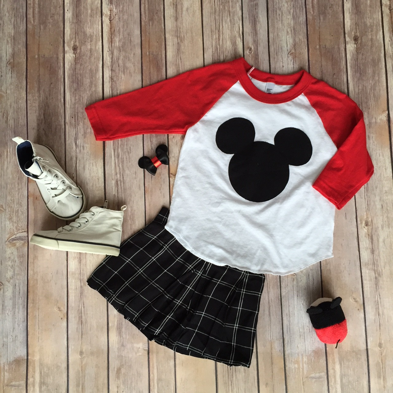 disney world style inspiration flat lay // a monkey and his mama