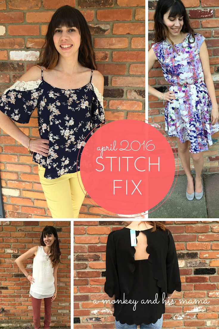 april 2016 stitch fix reveal // a monkey and his mama