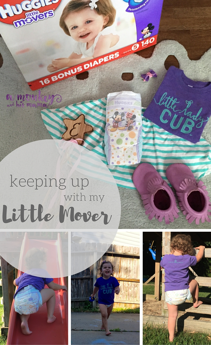 keeping up with My Little Mover // a monkey and his mama // #MyLittleMover #sponsored
