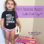 Potty Training Progress {with Pull-Ups®}.