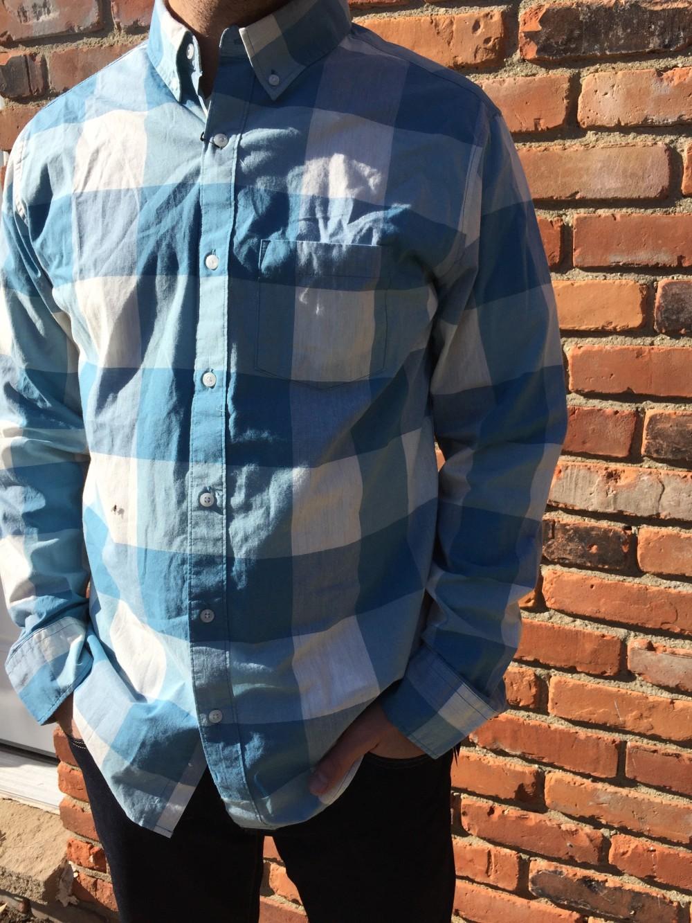 hawker rye essential wash long sleeve shirt // stitch fix men // a monkey and his mama