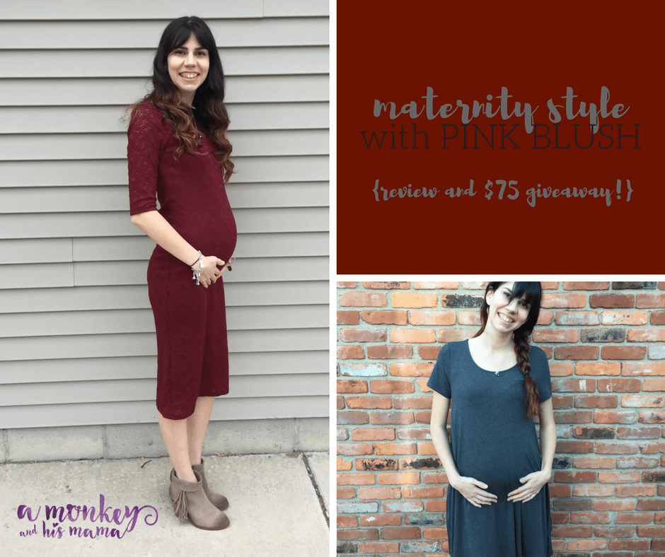 pink blush maternity review // a monkey and his mama