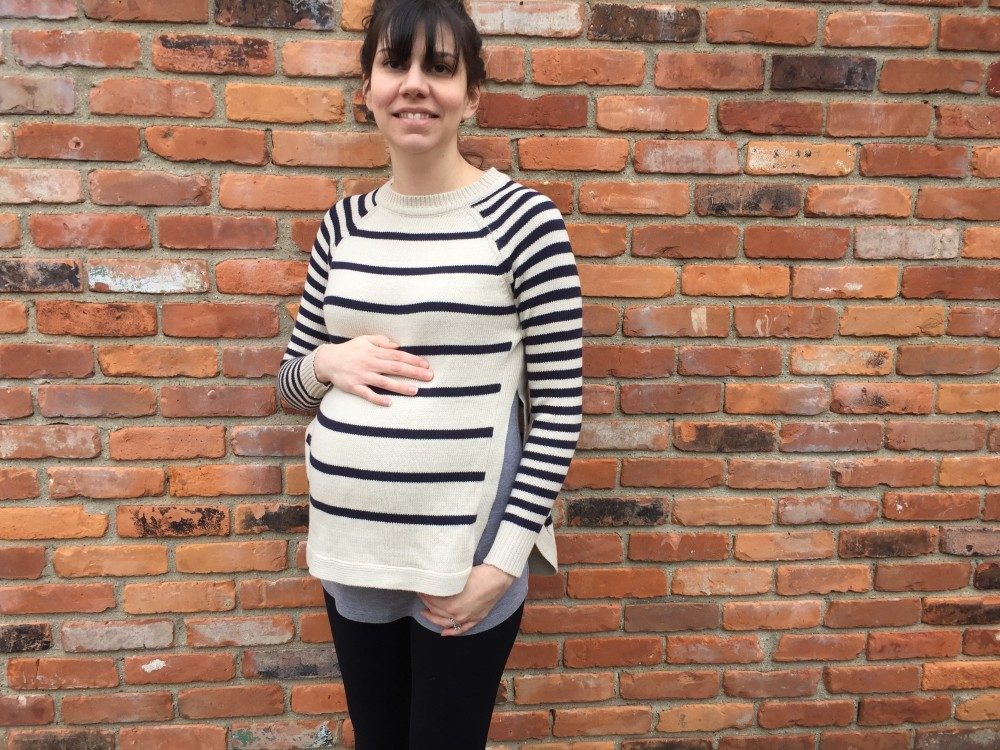 RD Style Birchcrest side slit detail sweater // a monkey and his mama // january stitch fix